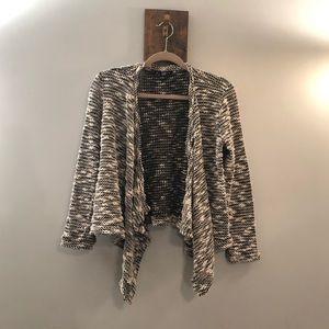 Asymmetrical long sleeve cardigan by Forever 21